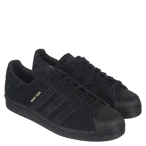 adidas superstar black velvet