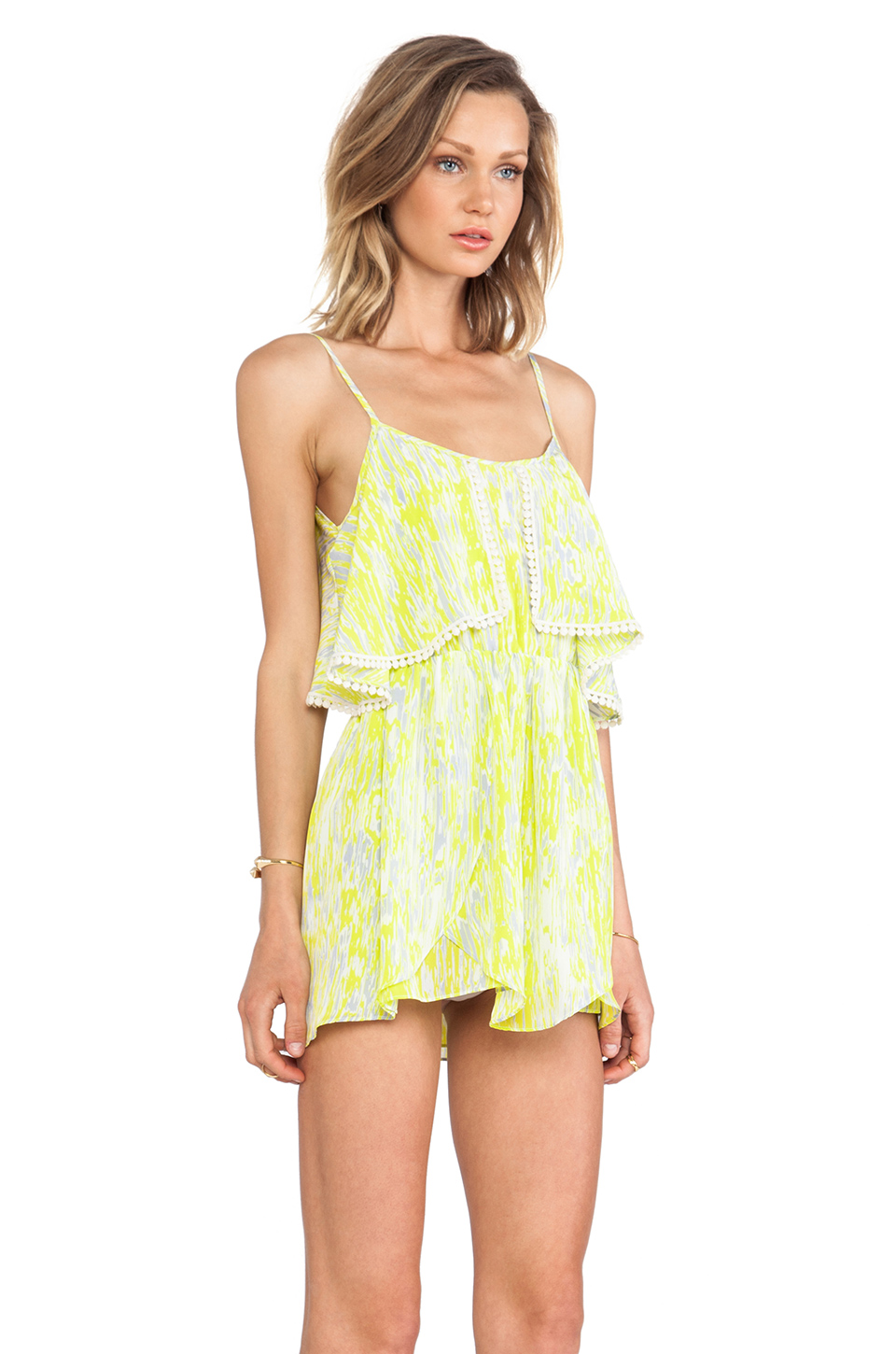 Lovers   Friends Aries Dress in Abstract Yellow | REVOLVE