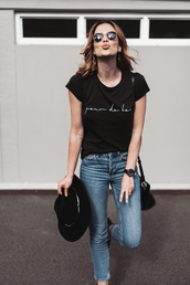 sbstnc,blogger,jeans,shoes,underwear,bag,t-shirt
