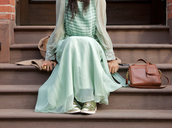 dress,lace,chiffon,mint,pastel,maxi dress,sheer,long sleeves