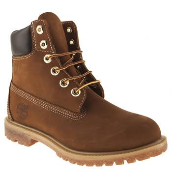 Women's Brown Timberland 6 Inch Premium Boots | schuh