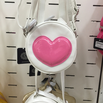 bag cool grunge heart indie love pale pink swag tumblr