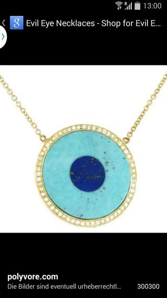 jewels turquoise evil eye evil eye necklace turkish eye
