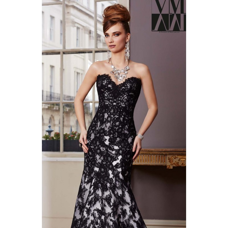 Lace Evening Gown by Mori Lee VM 71034 - Bonny Evening Dresses Online