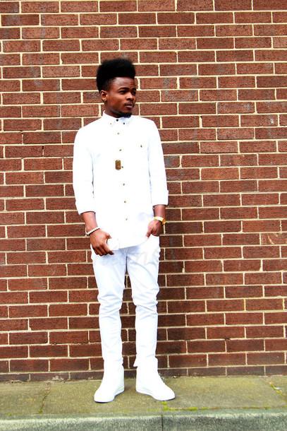 shirt all white everything white shirt
