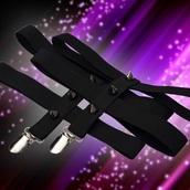 belt,black,thorns,garter,Accessory
