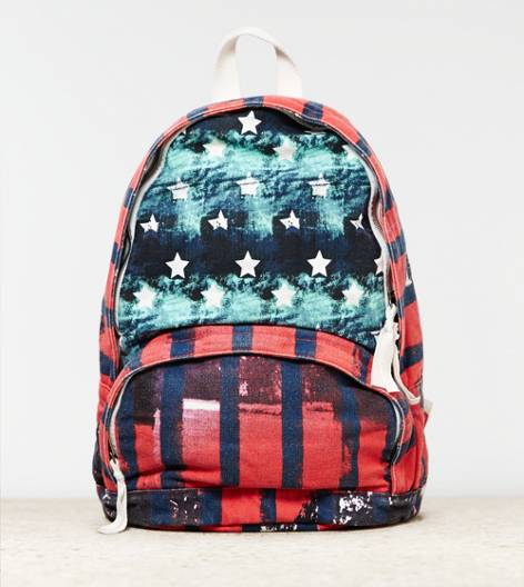 AEO Mixed Graphic Backpack, Multi | American Eagle Outfitters