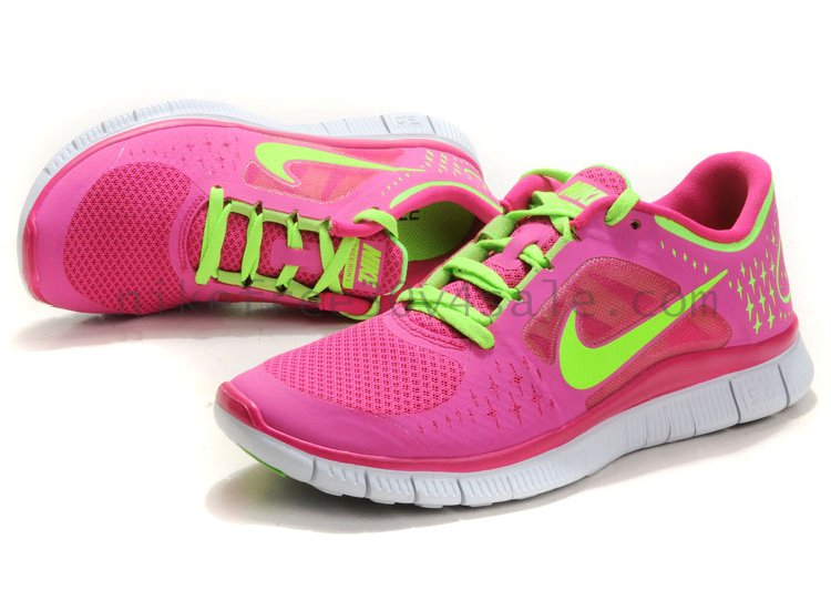 Nike Free Run 3 Womens Fireberry Electric Green Silver : Nike Free 3.0 V4 For Sale