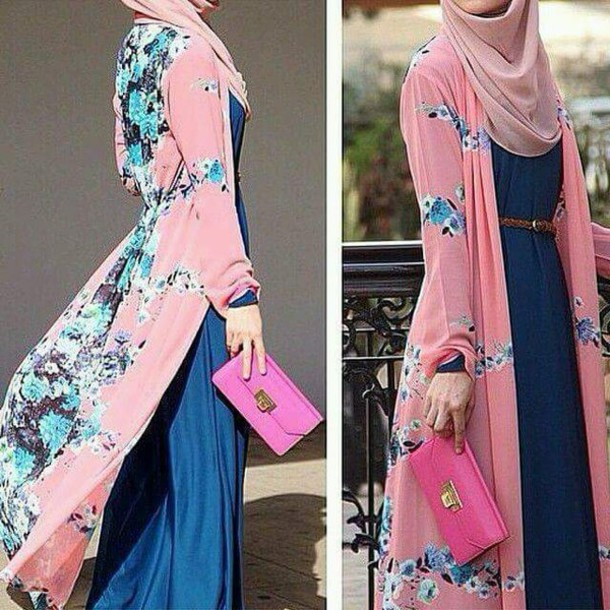 035c07b44f4 dress cardigan long cardigan maxi dress muslim outfit