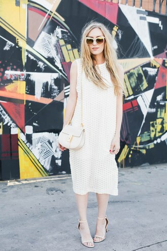 eat sleep wear blogger dress bag shoes