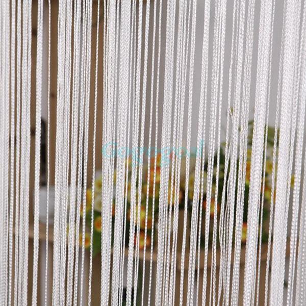 String Door Curtain Fly Screen Divider Room Window Decor DIY Blind Tassel Drape