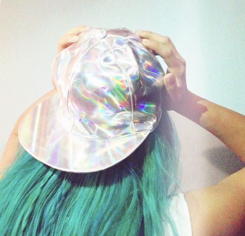 Multi Baseball - Holographic Hat | UsTrendy