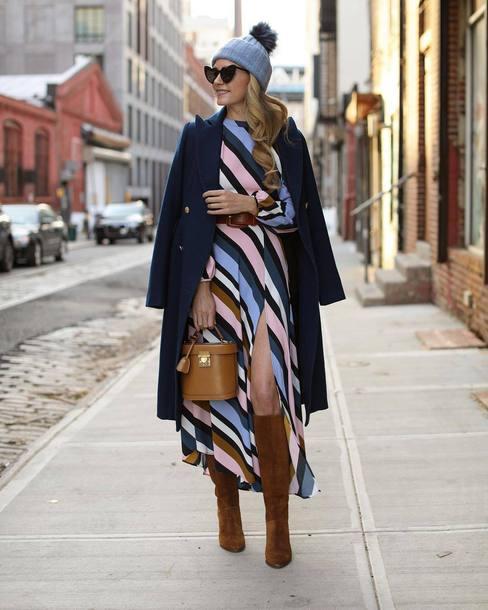 sunglasses black sunglasses heart sunglasses suede boots knee high boots handbag midi dress striped dress slit dress long sleeve dress belted dress coat wool coat