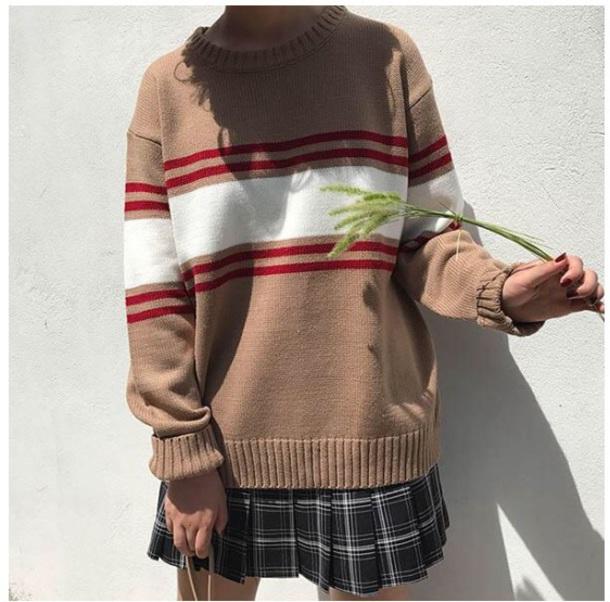 sweater girly sweatshirt tumblr