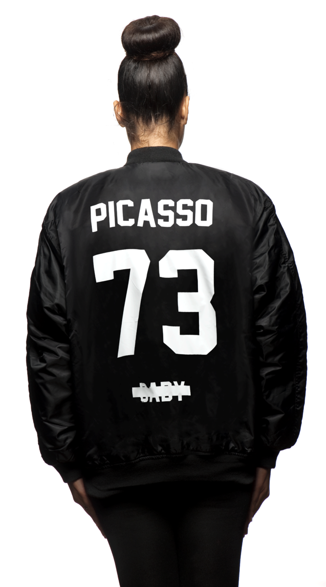 """Z picasso baby """"bomber"""" magna carta world tour limited edition"""