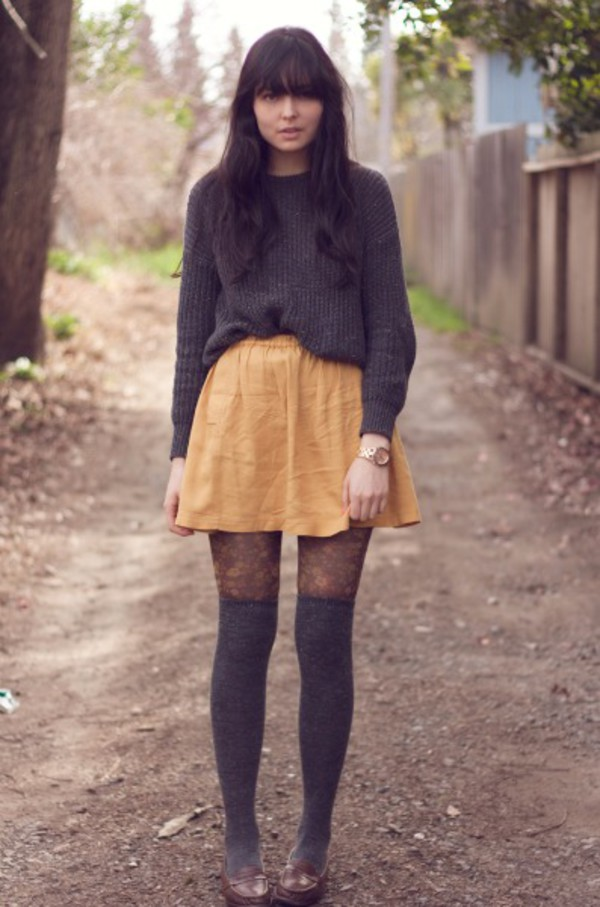 Skirt Clothes Tumblr Tumblr Outfit Grunge Aesthetic