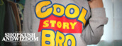 sweater,cool story bro,grey,toy story