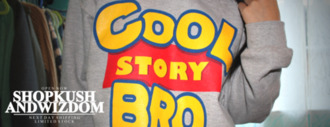 sweater cool story bro grey toy story