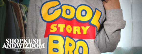 toy story sweater cool story bro grey