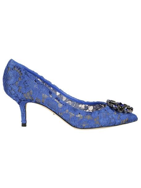 Dolce & Gabbana pumps blue shoes