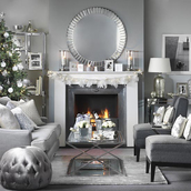home accessory,christmas home decor,christmas,tumblr,home decor,holiday home decor,holiday season,living room,chair,mirror,table,decoration