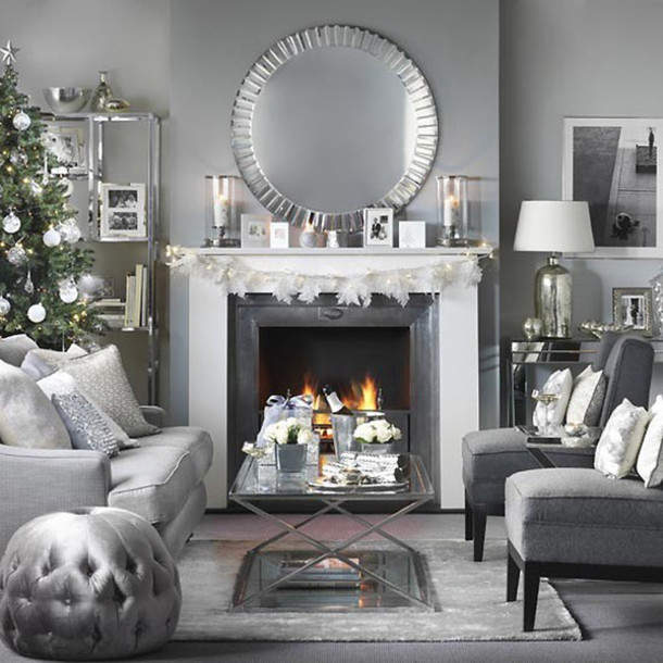 home accessory christmas home decor christmas tumblr home decor holiday home decor holiday season living room chair mirror table decoration