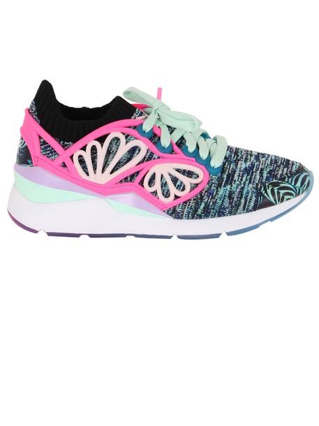 puma pearl sneakers black shoes
