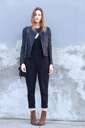 bag jumpsuit jacket blogger jewels styling my life