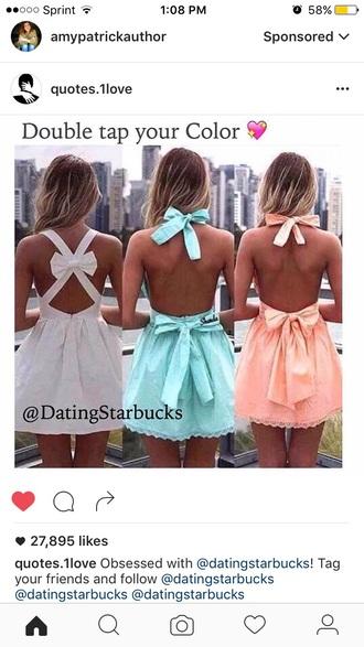 dress bow dress cute dress summer dress