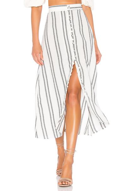 FLYNN SKYE Sophia Skirt in white
