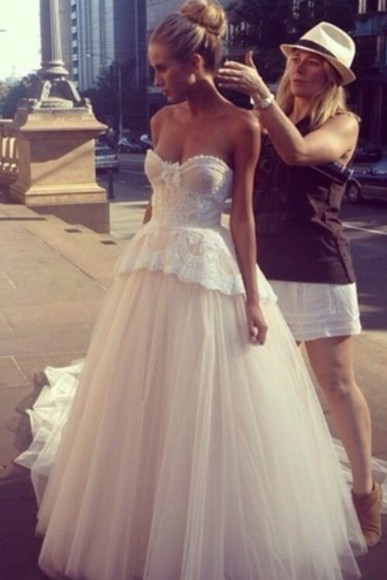 beauty wedding clothes bridal bridal dress