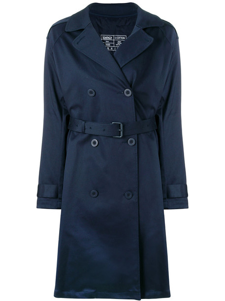 Sempach jacket oversized jacket oversized women drawstring cotton blue