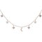 14kt gold and diamond it's written in the stars charm necklace – luna skye