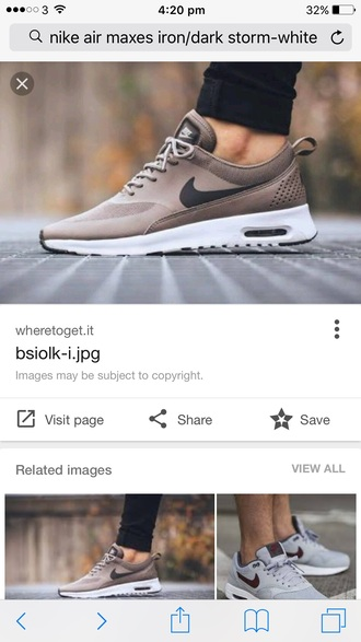 shoes air max beige sneakers nike low top sneakers