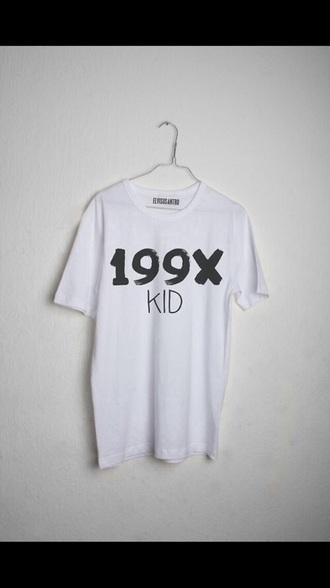 t-shirt 1990's 199x 90's shirt 90s style 90's 90's kid