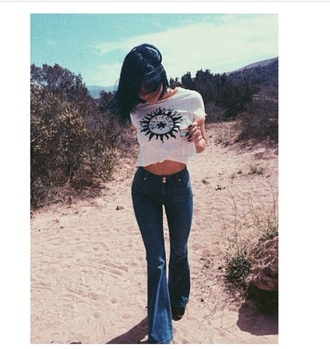 jeans kylie jenner shoes shirt