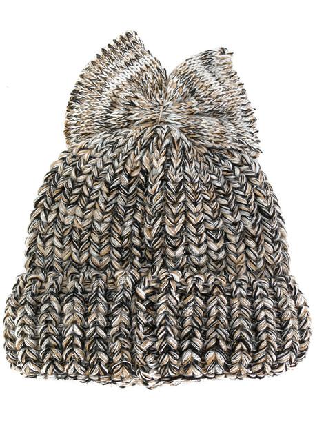 bow beanie hat