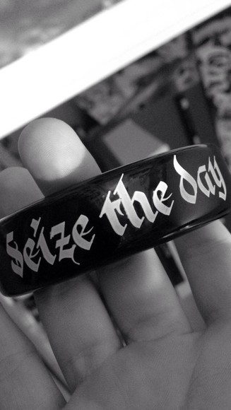 jewels braclets seize the day grunge