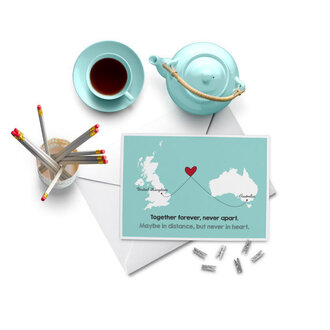 home accessory love quotes love valentines day gift idea valentines day aqua stationary card tea