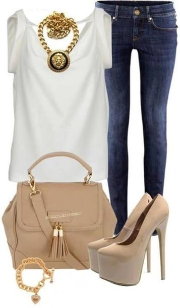 blouse bag clothes shoes