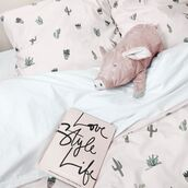 home accessory,yeah bunny,pillow,pink,pastel,bedding,cpver,cover,cactus,cacti,plants,succulent