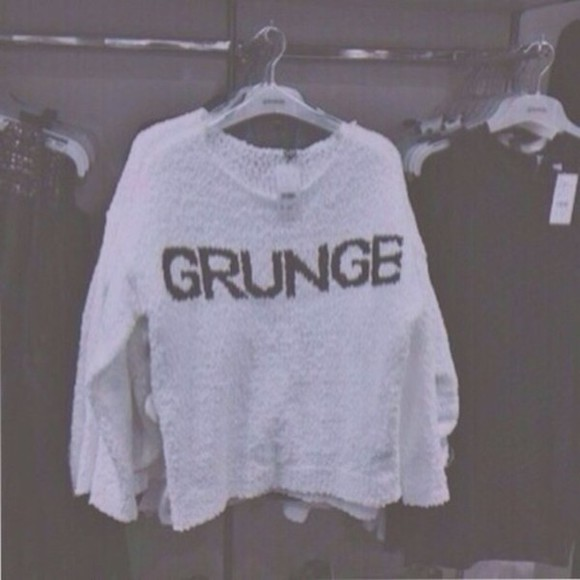 white sweater white grunge sweater grunge grunge sweater black and white black grunge goth pale grunge grunge goth