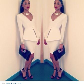 Dress White Dress White Blazer White Blouse White Skirts
