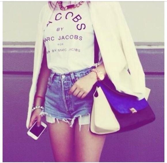 shirt marc by marc jacobs marc jacobs marc jacobs shirt marc jacobs tshirt t-shirt vogue shorts