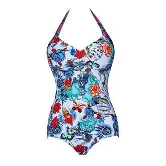 swimwear sexy retro slim one piece swimsuit