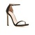 Stuart Weitzman Black The Nudist Sandal