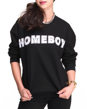 Buy Homeboy Sweatshirt Women's Sweaters from STYLESTALKER. Find STYLESTALKER fashions & more at DrJays.com