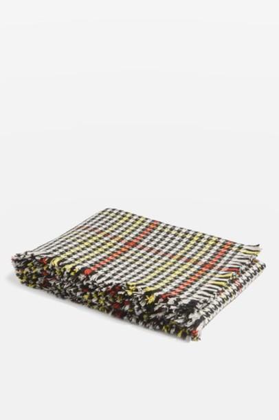 Topshop punk scarf monochrome