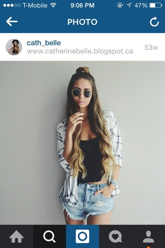 cardigan flannel shirt flannel plaid cute white black style style scrapbook summer outfits summer