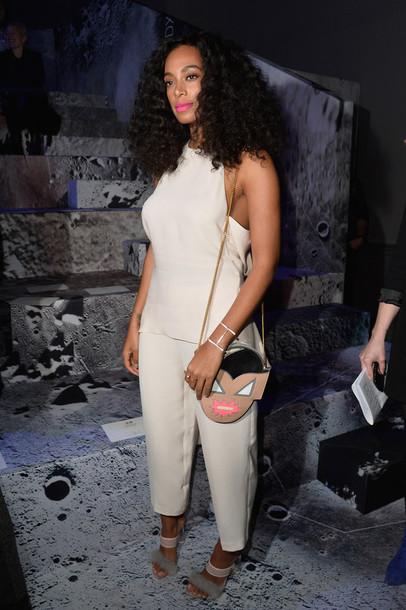 pants top solange knowles fashion week 2015